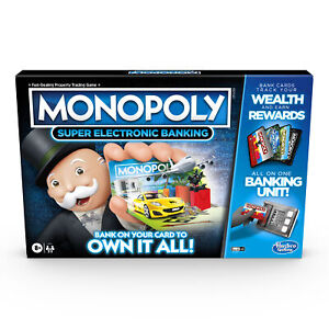 Monopoly Ultimate Rewards Board Game, Electronic Banking Unit for Ages 8 and Up