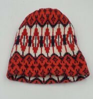 Vintage Wigwam Mills 100% Wool Hat Made In USA Red