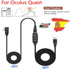 8M Línea Datos USB Extensión Cable Type A a C para Oculus Quest Link Steam VR