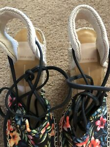 New Ladies New Lace-up Espadrilles. Size 7.5.