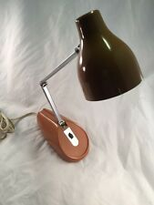 HC-18 Made in Japan Vintage Adjustable 1950's Retro Mid Century Old Desk Lamp