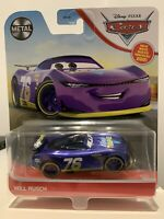 Disney Pixar Cars - Will Rusch - Vinyl Toupee No:76 Mattel Official Diecast Cars