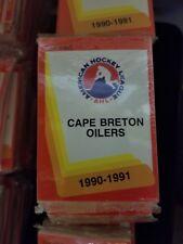1990-91 Pro Cards AHL CAPE BRETON OILERS Hockey Team Set Sealed