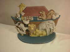 Vintage Midwest Importers Cast Iron Noah's Ark Doorstop