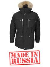 Russian jacket winter coat men Primaloft 100% Polyester brown SKI SNOWBOARD