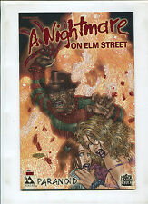 NIGHTMARE ON ELM STREET PARANOID #1 BLOOD RED VARIANT #ED TO 1300 (9.2)