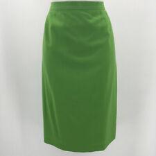 Escada Green Pencil Skirt Size 10