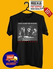Rage Against The Machine Ratm Rock Band Men's T-Shirt 100 % Cotton Made in Us