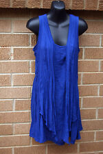 Womens Top Katies  Sz 8 Blue
