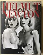 SIGNED Helmut Newton WORK Taschen + Sumo Promo Card