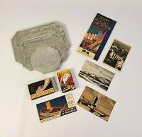 1933-1934 CHICAGO WORLDS FAIR EXPOSITION CENTURY OF PROGRESS SOUVENIR LOT