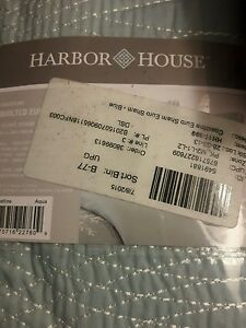 Harbour House coastline collection, quilted euro sham NEW in package, teal