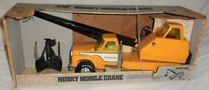 Vintage in box 1970's ? Ford Nylint 830 Highway Road Builders Husky Mobile Crane