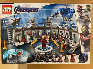 LEGO Iron Mans Werkstatt - 76125 + Captain America Outrider Attacke - 76123