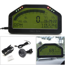 Car Race Dash Display OBD2 Bluetooth LCD Screen Digital Dashboard Gauge Speed