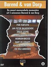 DVD BAREND & VAN DORP met HERMAN BROOD PIM FORTUYN BOUDEWIJN BUCH ANGIE STONE