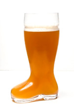 Oktoberfest Style Glass Beer Boot / Das Boot - Octoberfest Glass Beer Mug - 2 Li