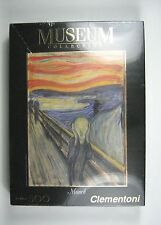 NEW Clementoni Puzzle Edward Munch The Scream 500 Piece Museum Collection 30505