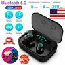 2019 Bluetooth 5.0 Headset TWS Wireless Earphone Mini Earbuds Stereo Headphones#