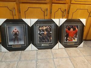 George St-Pierre Framed Pictures ×3