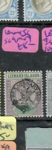 LEEWARD ISLANDS  (PP1710B) QV  TERCENT 1/2D  SG 9    MOG