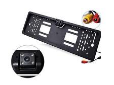 Portatarga con telecamera Retromarcia Auto Retrocamera 170 ° Visione Nottura