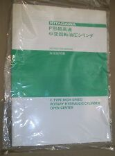 Kitagawa F-type High Speed Rotary Cylinder Open Center Instruction Manual