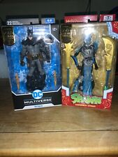 GOLD LABEL Batman and Spawn Figure McFarlane Toys DC Multiverse Gold Label