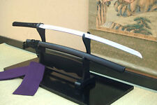 Japanese Iaido Katana Uesugi family- hime dzuruichimonji (with sword bag)!!