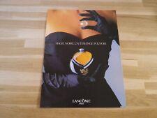 LANCOME - Magie noire - Publicité !! Papier épais !
