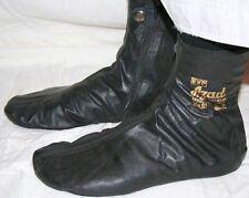 Azad Real Leather Zipper Socks / Khuffs / Wudu Masa Socks (Various Sizes) AZAD