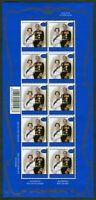 NEW ZEALAND NEUSEELAND 1644 KB SHEET Queen Elizabeth II 50th Wedding MNH postfri