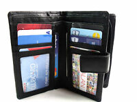 Ladies Womens Premium Quality Real Soft Leather Purse Wallet Credit Card Holder