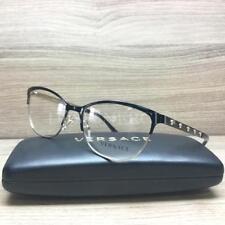 27214eba1e44 Versace VE 1251 Eyeglasses Black Gold 1366 Authentic 53mm
