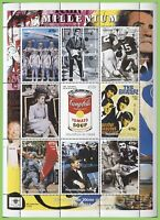 Chad 2000 Millenium Sheetlet, Events 1950-74. MNH
