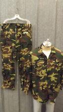Vtg CALIBER Camouflage Lightweight Hunting Pants/Jacket Set sz XL, 40x32