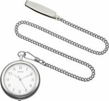 2019 New! SEIKO SAPP007 Pocket Watch with Silver Case Chain from Japan!