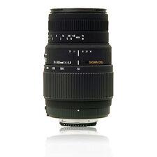 Sigma 70-300mm F4.5-5.6 DG Macro für Canon