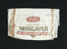 DOUWE EGBERTS MIDLAND Cigarette Tobacco EMPTY Vintage 50g Net Weight Pouch RARE