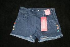 NWT Girls Gymboree Bonjour Provence Shorts Jean Size 4 Adjustable Waist