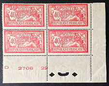 Timbre France, n°119, 40c rouge, xx, TB, cote 260e.