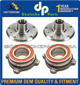 REAR WHEEL BEARING BEARINGS HUB HUBS for BMW E60 525i 528i 530i 535i 545i 550i