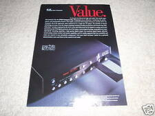 Mark Levinson No 39 CD Player Ad from 1997