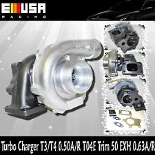 EMUSA T3/T4 Hybrid Turbo Charger .50 A/R .63A/R
