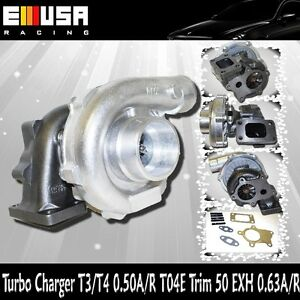 EMUSA T3/T4 Hybrid Turbo Charger Cold Side 0.50 A/R Hot Side 0.63A/R