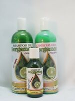 Shampoo Bergamota & Hair Conditioner & Oil Kit 100% Natural ( Hair Growth Kit )