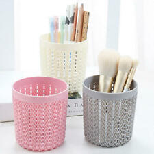 Hollow Pen Pencil Pot Holder Make-up Stationery Organizer Brush Container Box