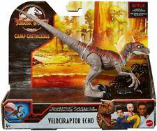 Jurassic World Velociraptor ECHO Action Figure Toy Hobby Mattel Camp Cretaceous!
