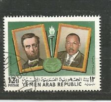 Jemen Martin Luther King & Lincoln Stamps Briefmarken Sellos Timbres
