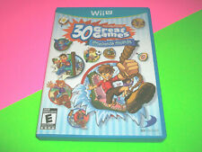 ⭐⭐ FAMILY PARTY 30 GREAT GAMES OBSTACLE ARCADE - NINTENDO WII U GAME ⭐⭐⭐⭐⭐⭐⭐⭐⭐⭐⭐